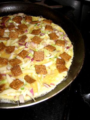 Okonomiyaki, uncooked