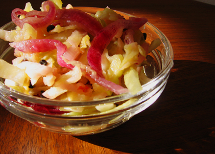 Que Sera Cabbage Salad