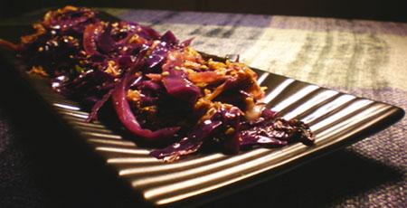 Four Cabbage Stir-Fry