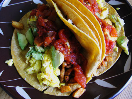 Decadent Breakfast Tacos