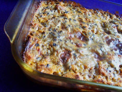 Breakfast casserole, In My Box-style