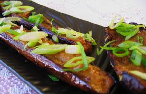 Nasu Dengaku - Broiled Japanese Eggplant with Miso Sauce