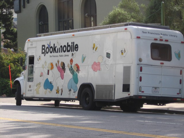 The SF library Bookmobile